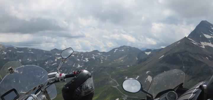 Austria e Italia en moto